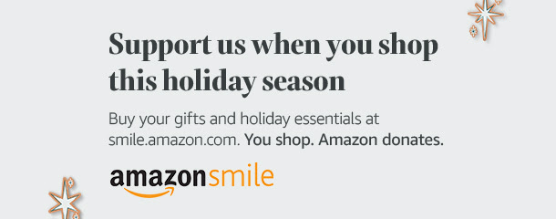 Amazon Smile Hiliday Banner